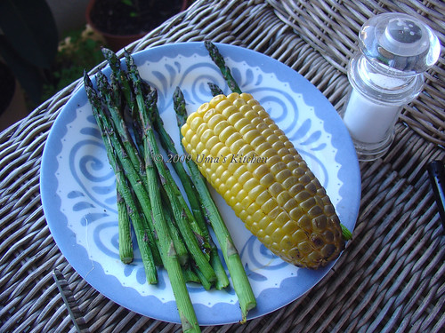 Corn and Asparagus