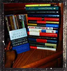 245/365 John C. Maxwell book collection