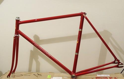 NAGASAWA Nakano Red NJS Used Track Frame (中野御用) | DȀMN