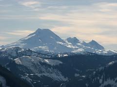 Elk Mountain snowshoe, 7 Feb 2009