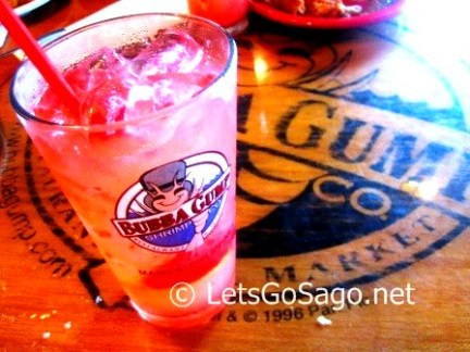 Bubba Gumps Strawberry Speckled Lemonade