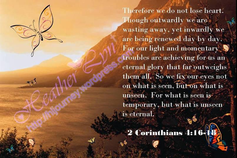 2 Corinithians 4:16-18