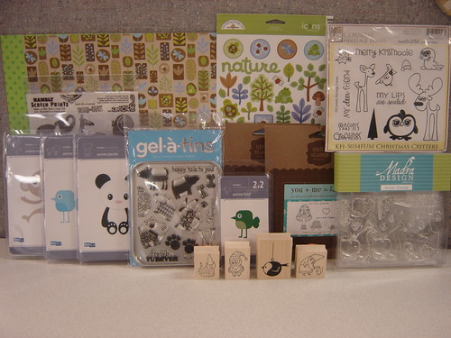 Five lucky people will win an assortment of this cute critter product!