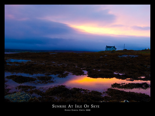 Sunrise At Isle Of Skye
