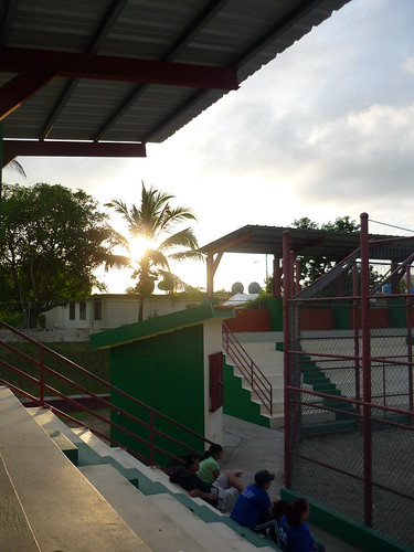 Local sports park in Puerto Rico