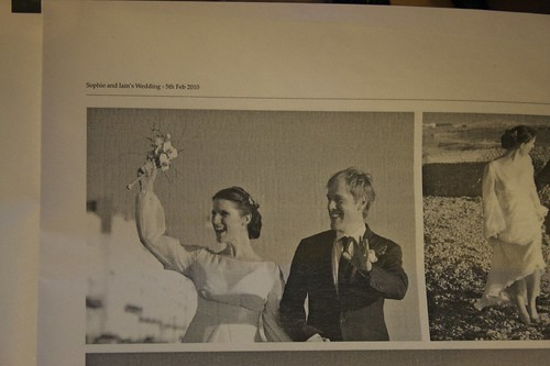 My Spanky Wedding Photographs Newspaper - thanks Newspaperclub.co.uk