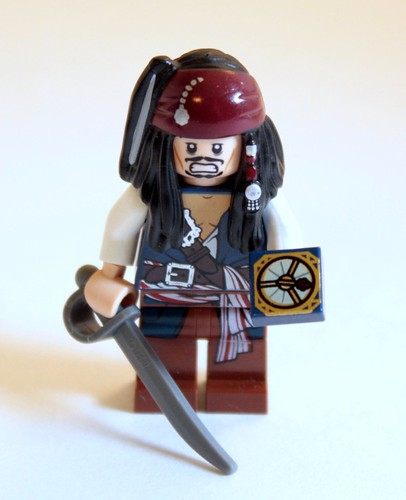 It's so nice to see Jack Sparrow in a set. He's almost like seeing Padme in a Star Wars set