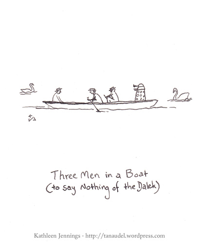 Three Men in a Boat (to say nothing of the Dalek)
