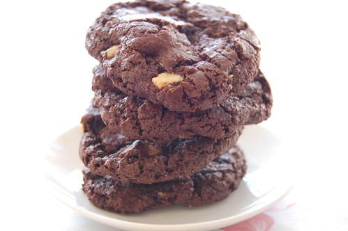 עוגיות שוקולד כפולות 2