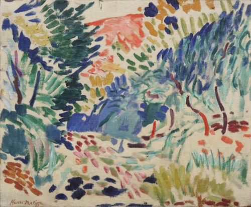 Landscape at Collioure, Henri Matisse