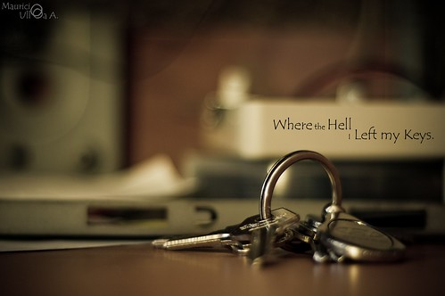 Where the Hell I Left my Keys.