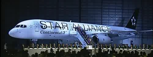 Continental Star Alliance 757-200