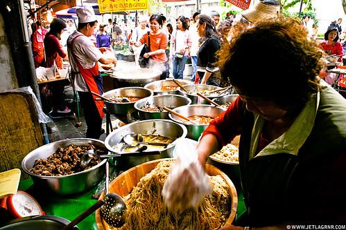Taipei street food vendor