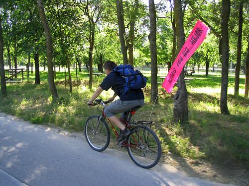 fanion bicicleta