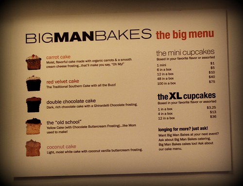 Big Man Bakes Cupcakes - Downtown Los Angeles DTLA by you.