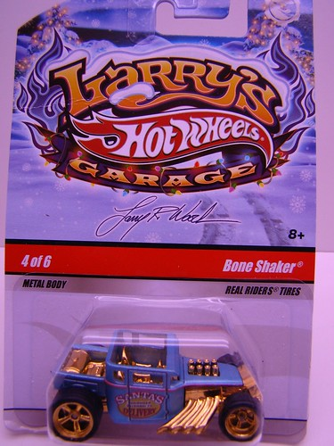 Larrys Garage Christmas Bone Shaker