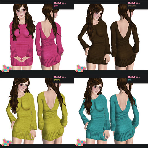 knit dress colors 2