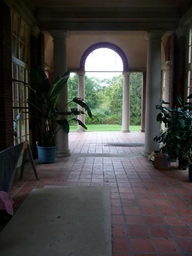 Interior of the West Loggia