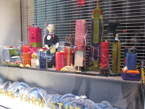 Knitted New York at the LB Yarn Studio
