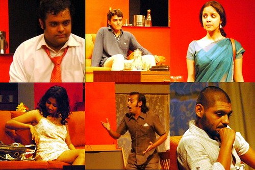 Evam - An idiot for dinner - star cast