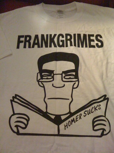 Frank Grimes from The Simpsons as The Descendents' Milo