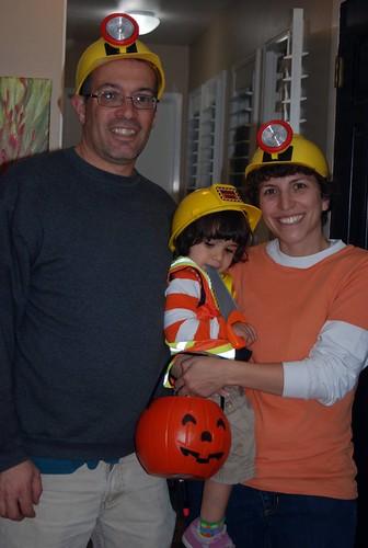 Family Halloween Photo