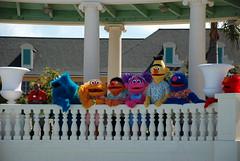Muppets Surveying Their Kingdom