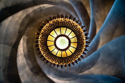 Espiral en Casa Batlló