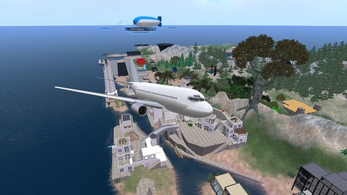 Flight out of Cowell