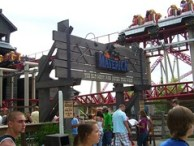 Cedar Point - Maverick Sign