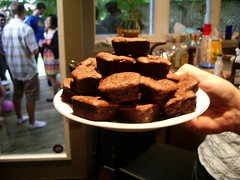 Delicious brownies. Bet you wish youd entered now, hmm?