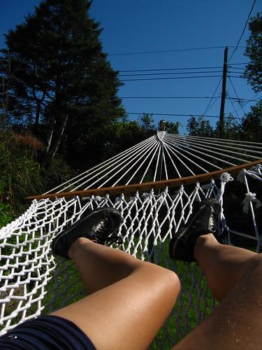 lazy legs