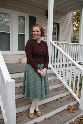 Forecast Sweater & 1/2 Circle Skirt