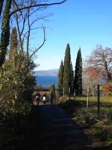 sentiero dalle valeselle