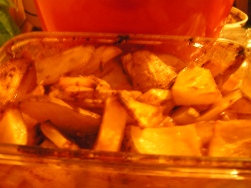 Lemon herb potatoes