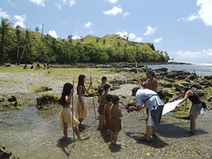 Filming Puntan and Fu'una