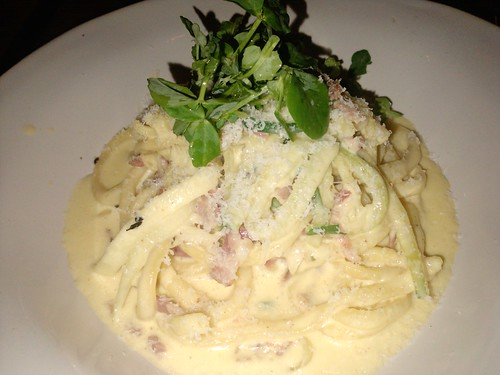 Beautiful Bucatini Carbonara