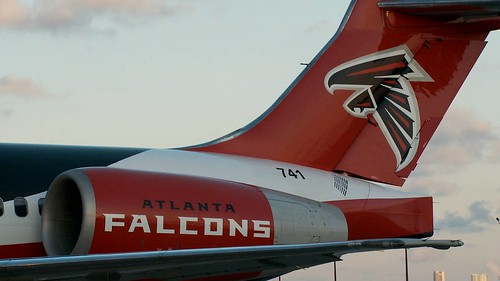 AirTrans Sponsors Falcons (Tail)