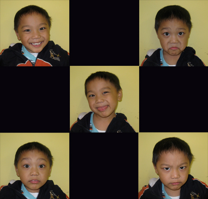aaron's many faces