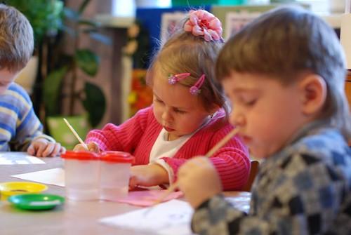 zajęcia plastyczne w przedszkolu