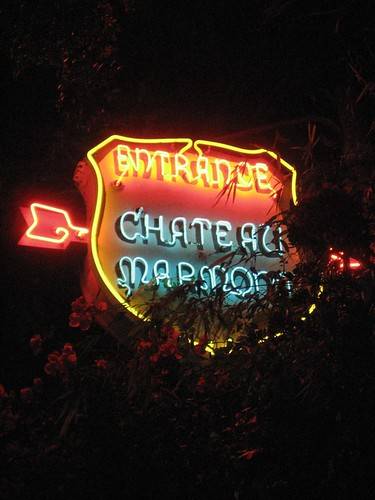 Chateau Marmont Entrance