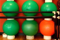 Balance Exercise Balls 7-3-09 1