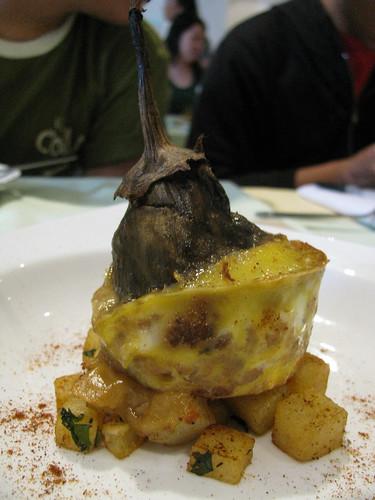 Torta de Patata at Amano