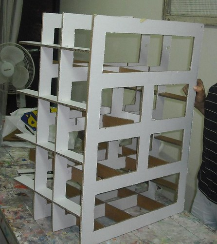 assembling the skeleton (with front panel)