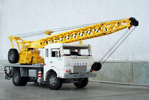 LEGO Maciej D. Jelcz 315 crane truck