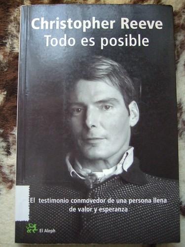 Libro Todo es posibe de Christopher Reeve