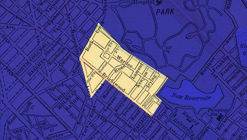 Park View Boundaries 1910