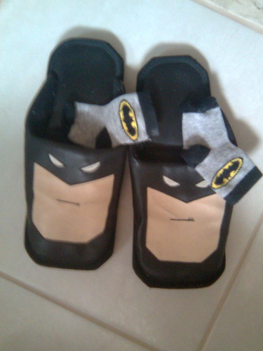 Bat-meias e bat-pantufas