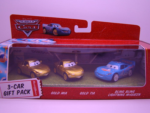 CARS Gold MIa n Tia 3 pack