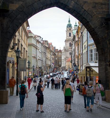 Entering Malá Strana by you.